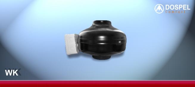 Внешний вид вентилятора и исполнение Dospel WK 160